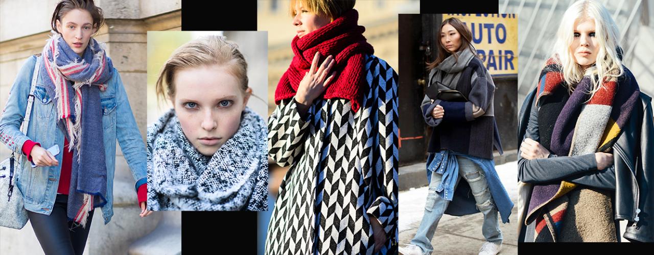 罗马假日:这个冬天,围巾与你不期而遇的温暖与风格